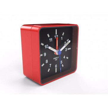 Fiery Red Glow in the Dark Alarm Clock